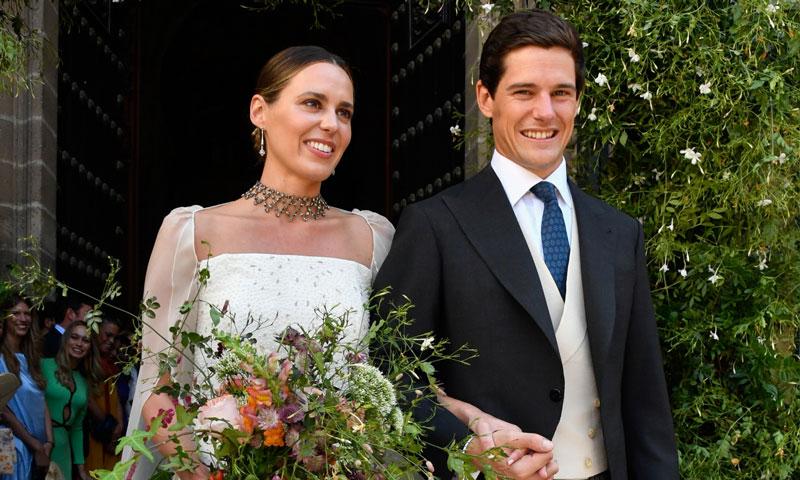 Desvelamos los detalles sorpresa del vestido de novia de Claudia Osborne