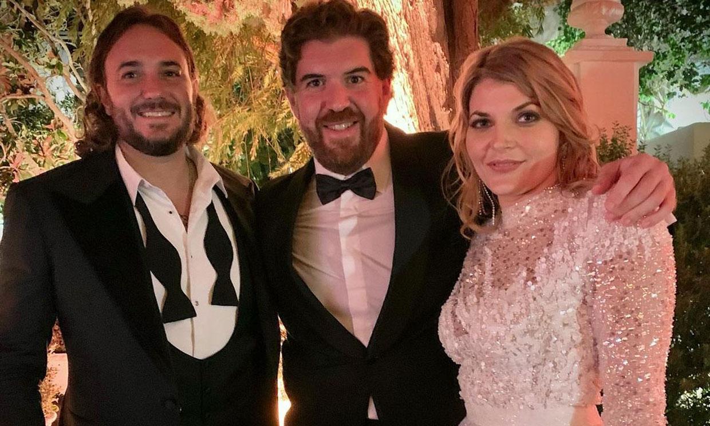 Tres vestidos más para Sophie Karoly: pedrería y brillo en la celebración de su boda con Francisco de Borbón