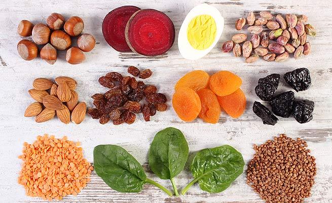 que alimentos debe comer cuando tiene anemia