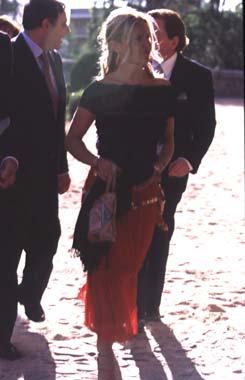 El príncipe Felipe, en la boda de Pablo de Hohenlohe
