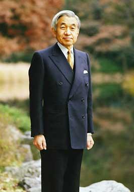 El emperador Akihito, enfermo de cáncer