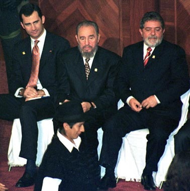 El Príncipe de Asturias, Rey de Corazones en Ecuador