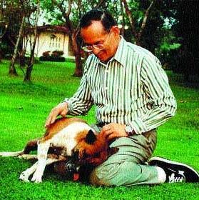 El Rey de Tailandia puede fabricar lluvia