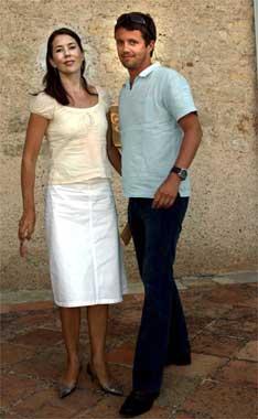 Federico de Dinamarca y Mary Donaldson, románticas vacaciones en Francia
