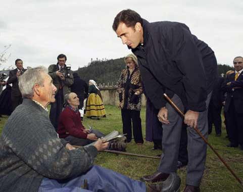 Felipe de Borbón: de los Premios Príncipe de Asturias al corazón del Principado