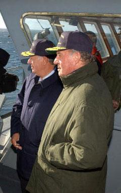 El Rey de España cumple un sueño llamado Antártida