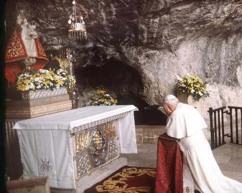 Juan Pablo II en Asturias