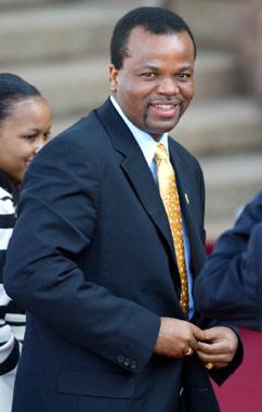 Mswati III de Suazilandia ha escogido a su décimotercera esposa