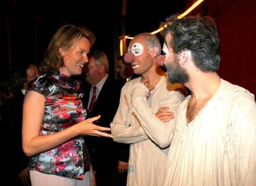 Mary de Dinamarca y Matilde de Bélgica, 'reinas' del circo