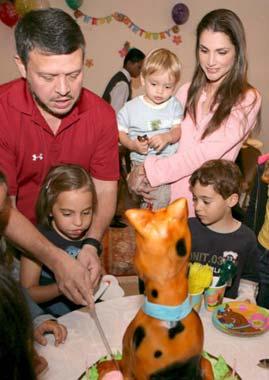 Los Reyes de Jordania celebran el cumpleaños de su hija Salma