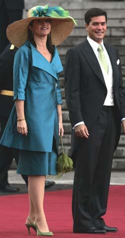 La princesa Alexia de Grecia espera su cuarto hijo para el mes de noviembre