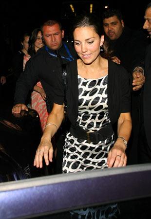 El príncipe Guillermo invita a Kate Middleton al concierto organizado en memoria de su madre