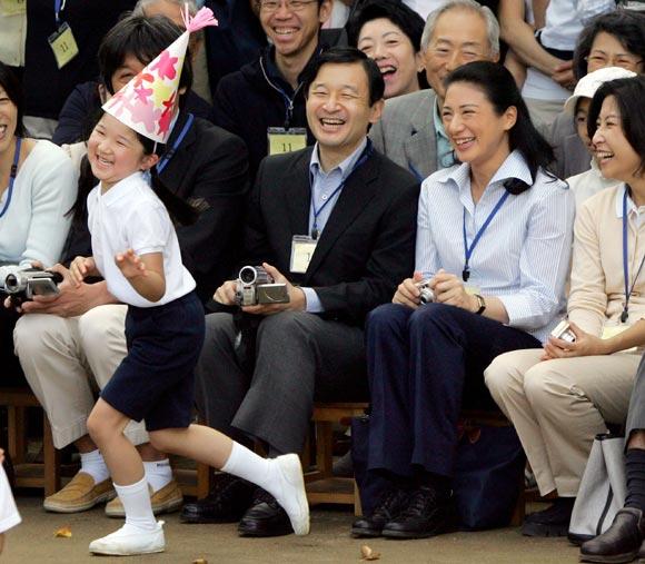 Naruhito y Masako de Japón, orgullosos de su hija, Aiko