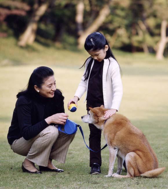 La princesa Aiko de Japón cumple seis años
