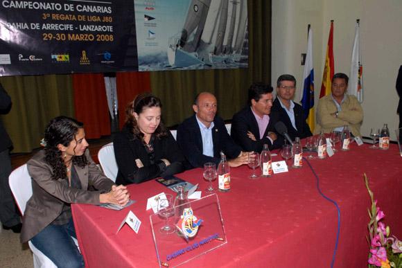 Alexia de Grecia presenta una competición de yates que lleva su nombre en Lanzarote