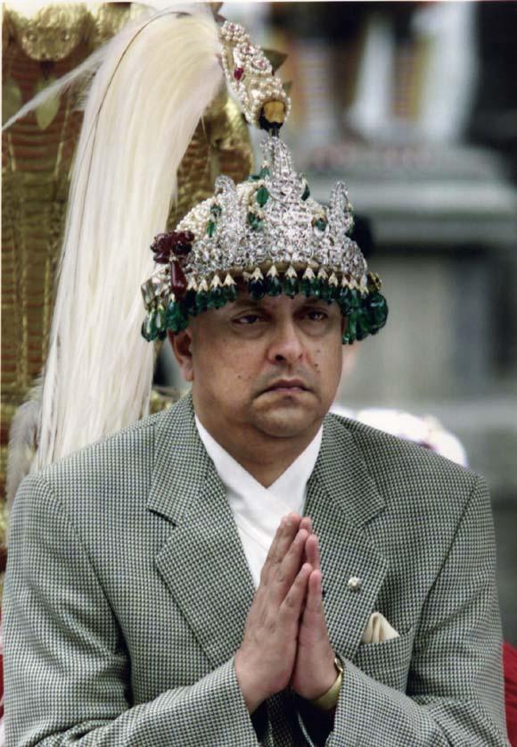Resultado de imagen para Fotos de Gyanendra - rey de Nepal