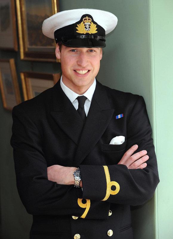 Guillermo de Inglaterra comienza su adiestramiento en la Marina