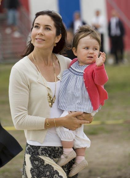 Tarde de circo para la Familia Real danesa