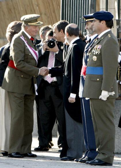 Los Reyes, acompañados por los Príncipes de Asturias, han presidido la tradicional Pascua Militar