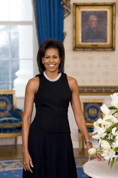 Michelle Obama ya tiene su primer retrato oficial