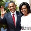 Los Obama: cena en familia a los pies de la Torre Eiffel