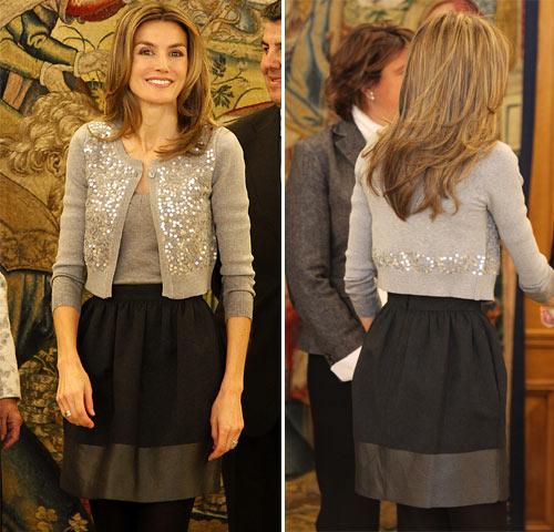 La minifalda irrumpe triunfal en Palacio