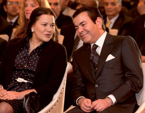 Mohamed VI y Lalla Hasna, con el planeta