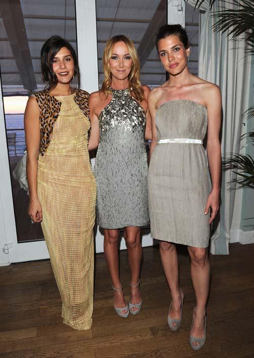 Noor de Jordania, Carlota Casiraghi, Clotilde Coureau y Charlenne Wittstock, la realeza también se da cita en Cannes