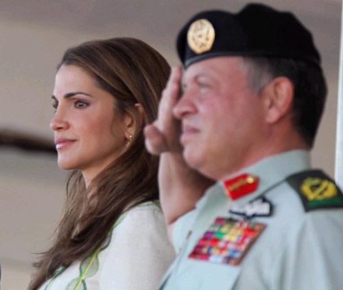 Abdalá y Rania de Jordania, entre el protocolo y la espontaneidad