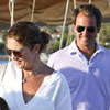 Días antes de abandonar la soltería, Nicolás de Grecia se relaja navegando con su familia por el Peloponeso
