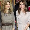 Rania de Jordania y la Princesa de Asturias se apuntan a la moda de marcar cintura