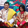 El rey de Bután se casa con la plebeya Jetsun Pema en una sencilla ceremonia