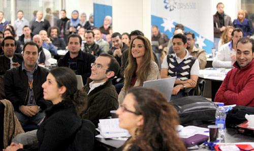 Rania de Jordania sigue su labor en Occidente