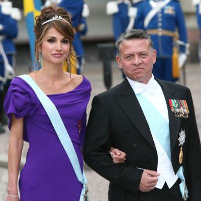 Abdalá de Jordania conquistó a su esposa, la reina Rania, cocinando para ella