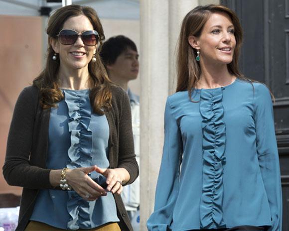 Los idénticos 'looks' de los armarios de las princesas