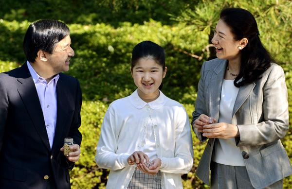 La princesa Masako y su hija Aiko cumplen años llenas de alegría