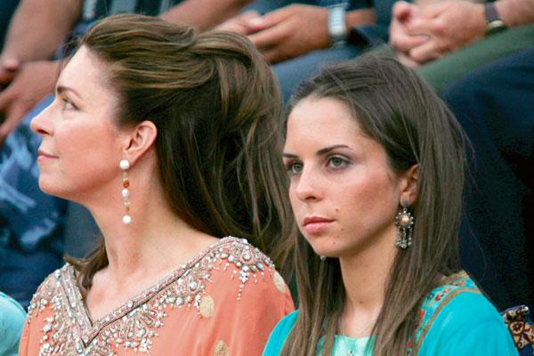 Mañana se casa Imán de Jordania, hija de la reina Noor, con Zaid Mirza