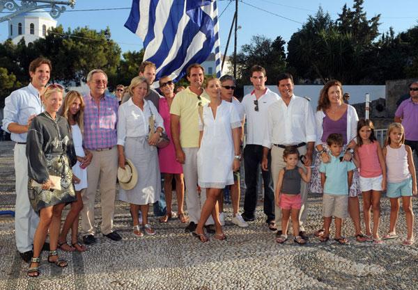 Los reyes Constantino y Ana María han vuelto a Grecia