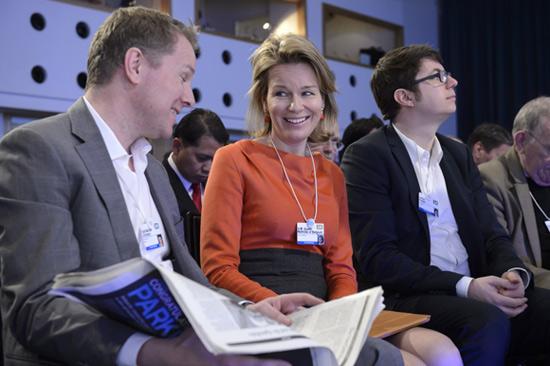 Matilde de Bélgica y Rania de Jordania, dos reinas fieles a su cita en el Foro de Davos