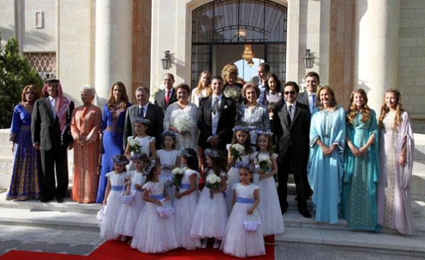 La reina Sofía y Rania de Jordania, juntas en una nueva boda real de las mil y una noches