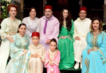 El príncipe Moulay Rachid, hermano de Mohamed VI, se casa con Oum Keltoum Boufarès