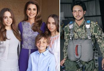 El orgullo familiar de Rania de Jordania en el cumpleaños de su hijo, el príncipe Hussein