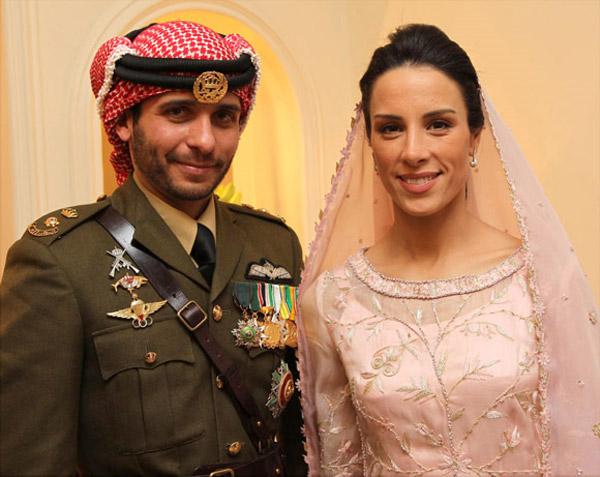 Hamzah y Basma de Jordania