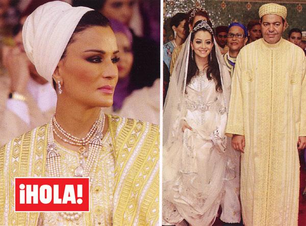 la fastuosa boda real de marruecos