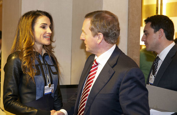La realeza vuelve a ser fiel a Davos