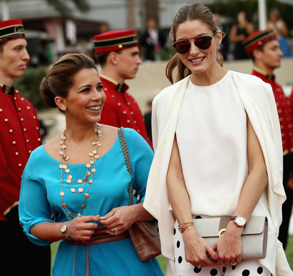 Haya de Jordania y Olivia Palermo 'reinan' juntas en Dubái