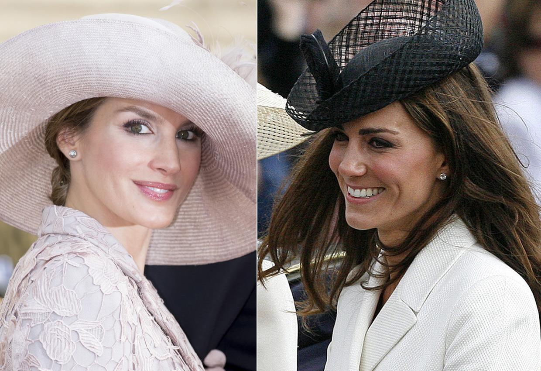 Las coincidencias en los joyeros de doña Letizia y la duquesa de Cambridge