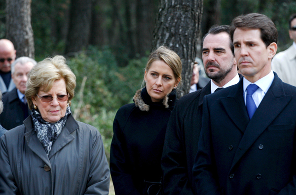 La Familia Real griega se reúne en Tatoi en recuerdo de los reyes ...