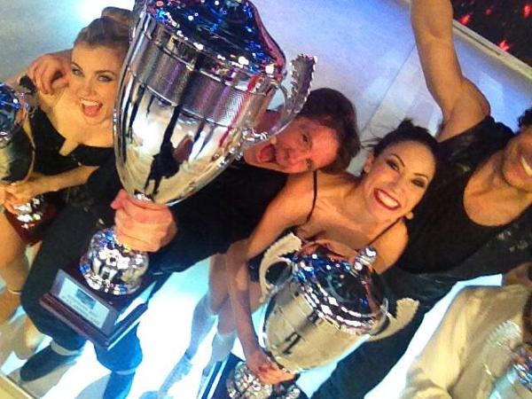 Filiberto de Saboya, tras quedar finalista en un 'reality' de patinaje, anuncia que deja la televisión