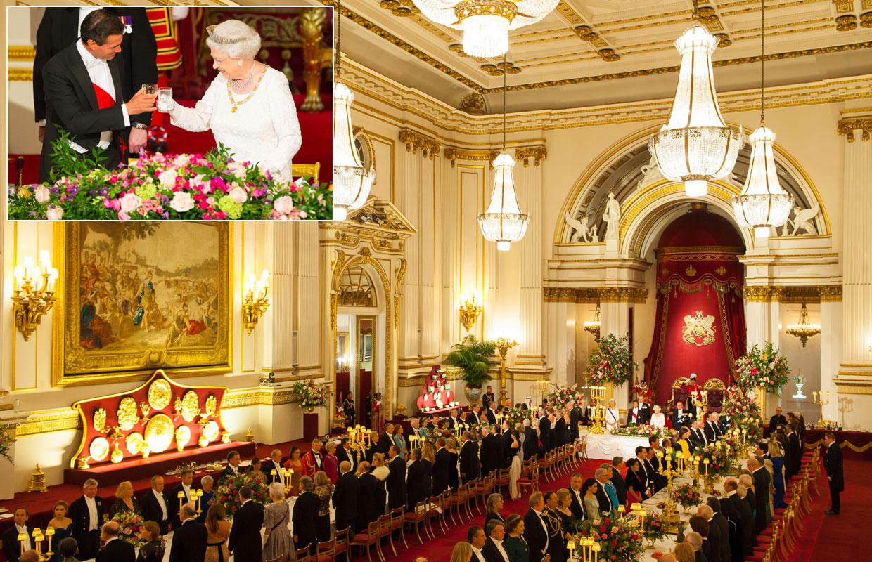 Comedores Reales: Descubre los salones en los que los reyes y reinas ...